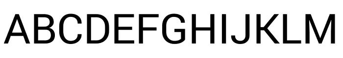 Yantramanav Regular Font UPPERCASE