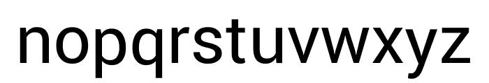 Yantramanav Regular Font LOWERCASE