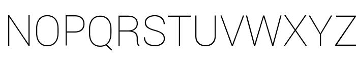 Yantramanav Thin Font UPPERCASE
