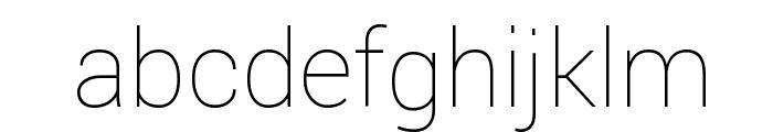 Yantramanav Thin Font LOWERCASE
