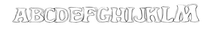 YardGnome Font LOWERCASE