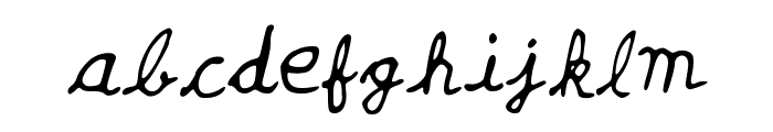 Yash_Jaiswal Font LOWERCASE