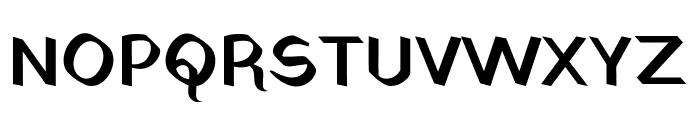 Yatra One Regular Font UPPERCASE
