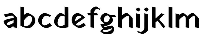 Yatra One Regular Font LOWERCASE