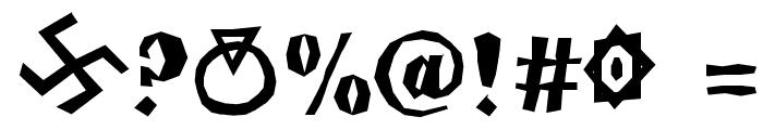 yatsutko_glagolitsa Font OTHER CHARS