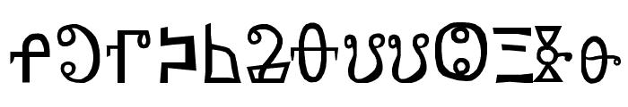 yatsutko_glagolitsa Font LOWERCASE