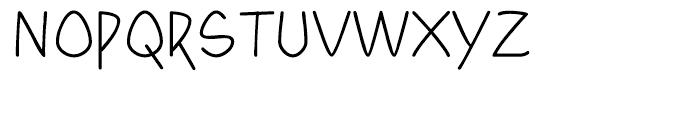 Yahosch Regular Font UPPERCASE