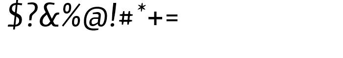 Yalta Sans Italic Font OTHER CHARS