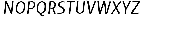 Yalta Sans Italic Font UPPERCASE