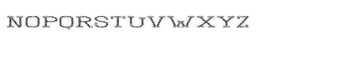 Yanna Lower Font UPPERCASE