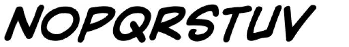 Yada Yada Yada Bold Italic Font UPPERCASE