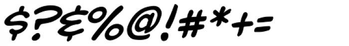 Yada Yada Yada Italic Font OTHER CHARS