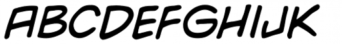 Yada Yada Yada Italic Font UPPERCASE