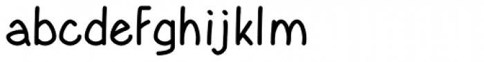Yahosch Medium Font LOWERCASE
