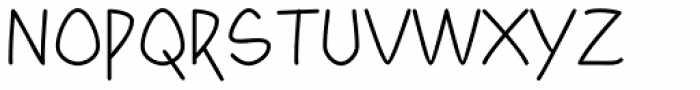 Yahosch Font UPPERCASE