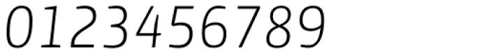 Yalta Sans Pro Light Italic Font OTHER CHARS