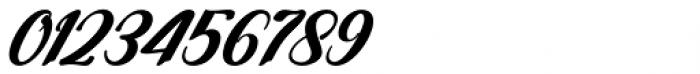 Yamada Italic Font OTHER CHARS