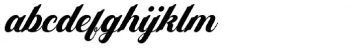 Yamada Italic Font LOWERCASE