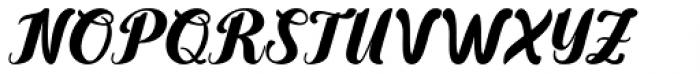 Yamada Regular Font UPPERCASE