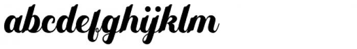 Yamada Regular Font LOWERCASE