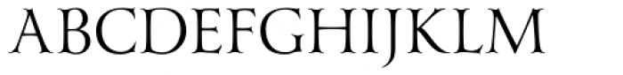 Yana Regular Font UPPERCASE