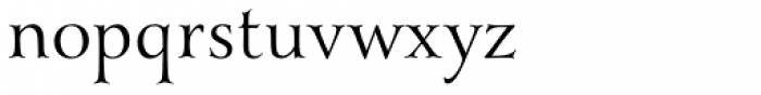 Yana Regular Font LOWERCASE
