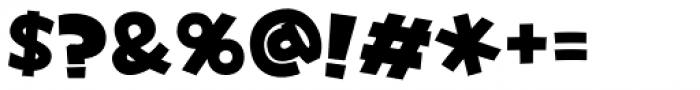 Yancha Pop_JItabata Font OTHER CHARS
