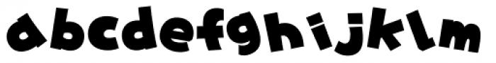 Yancha Pop_JItabata Font LOWERCASE