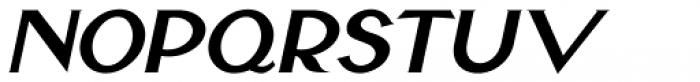 Yankee Doodle Boy Oblique JNL Font LOWERCASE