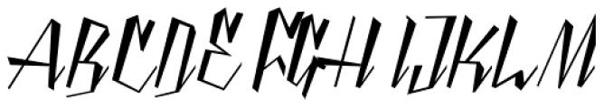 Yanty Script Font UPPERCASE