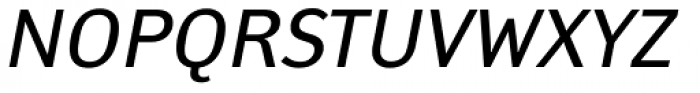 Yanus Italic Font UPPERCASE