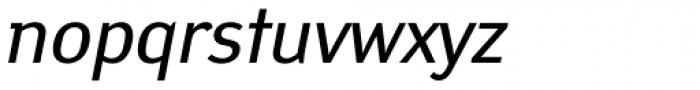 Yanus Italic Font LOWERCASE
