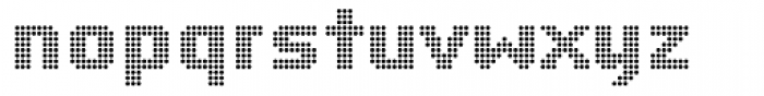 Yardmaster Font LOWERCASE