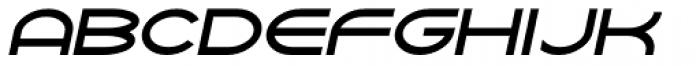 Yarikha DemiBold Italic Font UPPERCASE