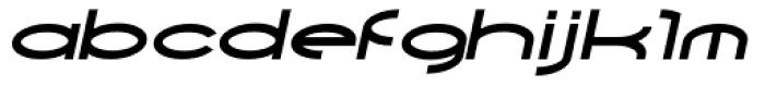 Yarikha DemiBold Italic Font LOWERCASE