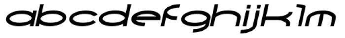 Yarikha SemiBold Italic Font LOWERCASE