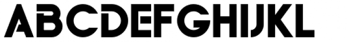 Yaro Op Black Font UPPERCASE