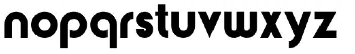 Yaro Op Black Font LOWERCASE