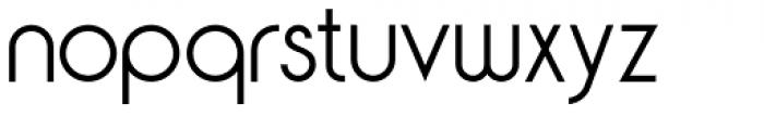 Yaro Rg Thin Font LOWERCASE