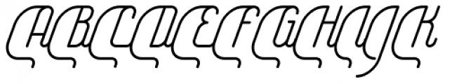 Yasemin Italic Font UPPERCASE