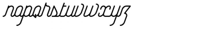 Yasemin Italic Font LOWERCASE