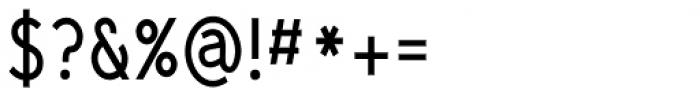 Yassitf Narrow Regular Font OTHER CHARS
