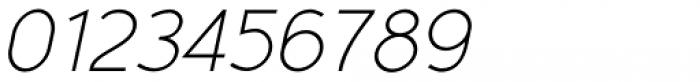 Yassitf Thin Italic Font OTHER CHARS