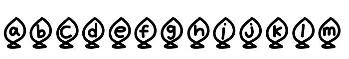 YBAlphaFish Font LOWERCASE