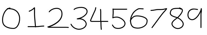 YBBrandNewDay Font OTHER CHARS