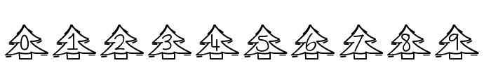 YBChristmasAlphabet Font OTHER CHARS