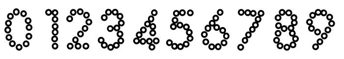 YBDabaDotFont Font OTHER CHARS