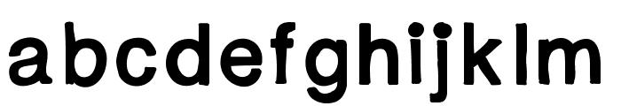 YBFridayImInLove Font LOWERCASE
