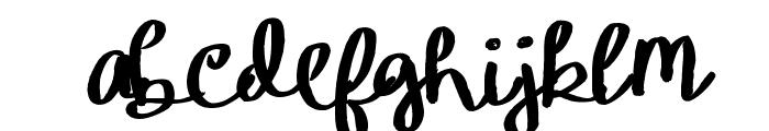 YBIceCreamSundae Font LOWERCASE