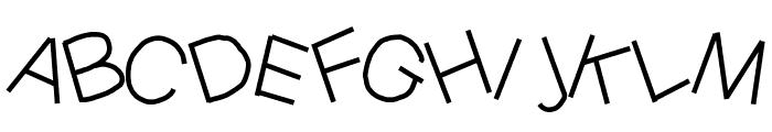 YBMessyJungle Font UPPERCASE